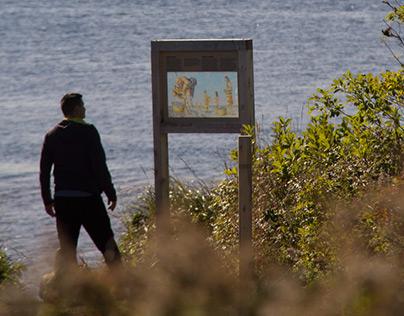 Robinsons Island Interpretive planning and design