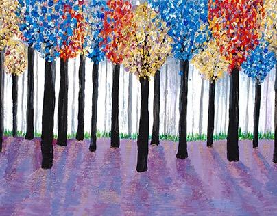 September 2015 Acrylic Paintings