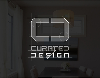 Curated Design Logo