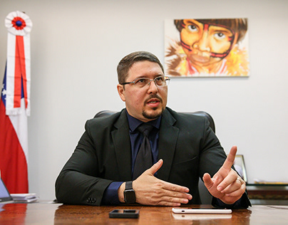 Vice-Governador do AM, Carlos Almeida