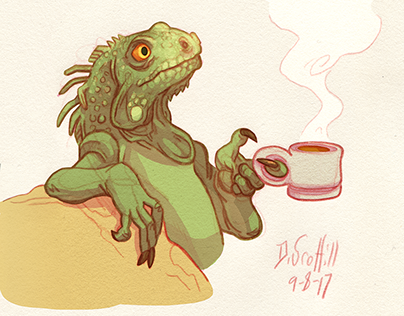 Tea Lizard