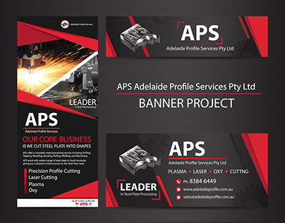[APS] Adelaide Profile Services Pty Ltd : Banner design