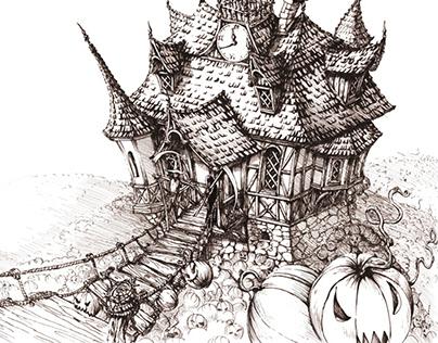 Halloween Sceneries