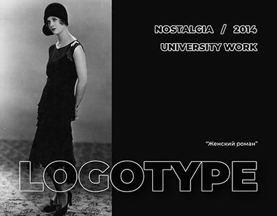 Poster. Nostalgia. 2014. UNIVERSITY WORK #03.