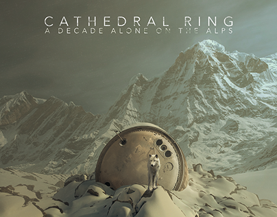 CATHEDRAL RING - A DECADE ALONE ON THE ALPS -CD DESIGN