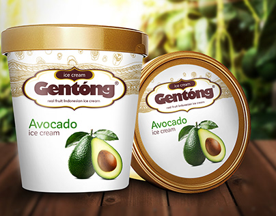 ICE CREAM GENTONG PACKAGING