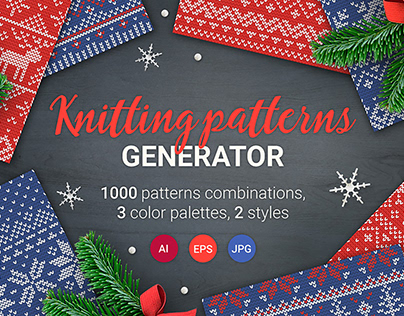 1000 Knitting Patterns Generator By:MiuMiu
