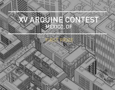 XV Concurso Arquine
