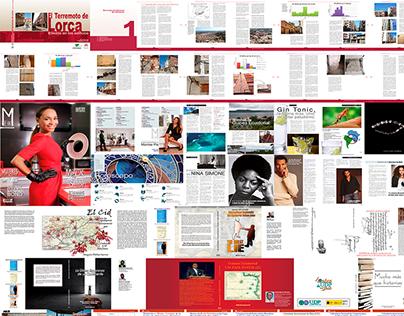 Editorial: Revistas, libros y novelas