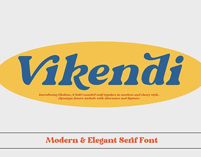 Free Vikendi Serif Font