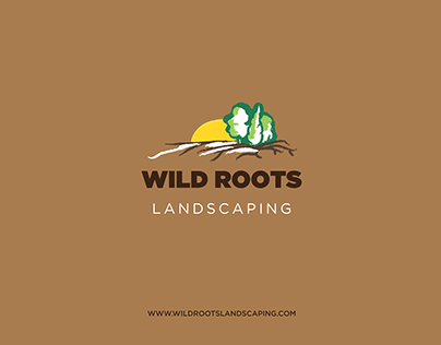 Visual Identity Project for Wildroots Landscaping
