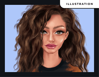 Digital Painting - (Process Video Included)