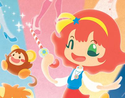 Minky Momo - Illustration tribute