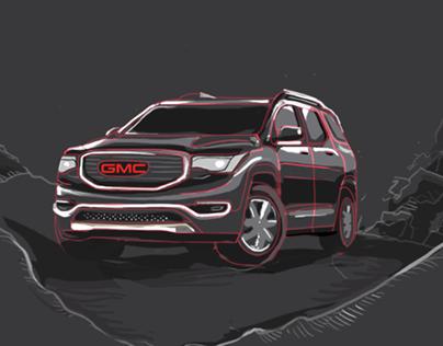 GMC Social Campaign illustration, storyboard &Animation
