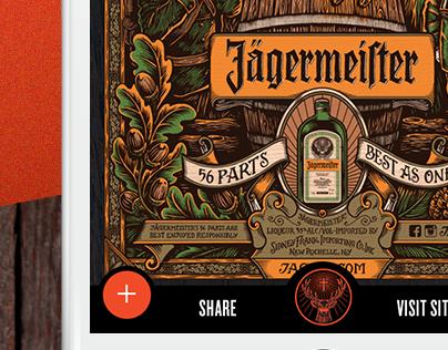 Jägermeister mobile puzzle ad