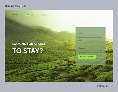 Landing Page #100DaysOfUI
