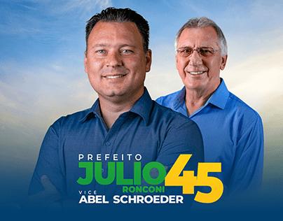 Campanha Eleitoral Julio Ronconi 2020