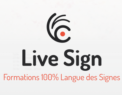 Branding | Live Sign | Video training in sign language