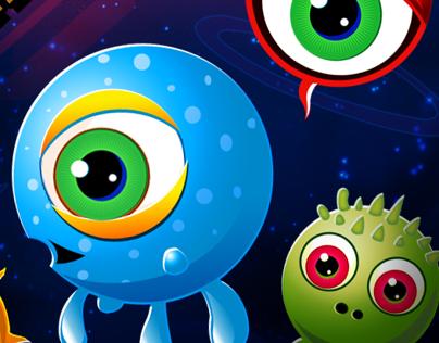 Zerg Invasion - Game UI Design