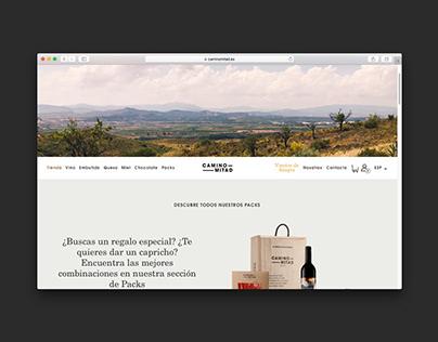 Camino Mitad Web Design