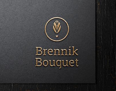 """Brennik Bouquet"" logo design"