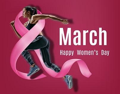 women's day - social media design