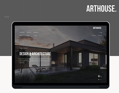 ArtHouse | website concept