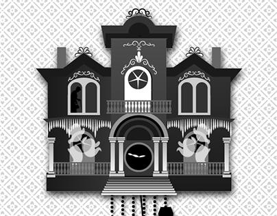 Halloween Cuckoo Clock