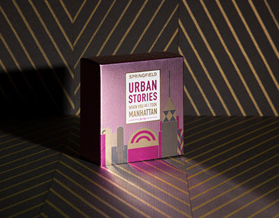 Urban Stories by Springfield- Packaging Design