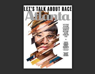 Atlanta Magazine Cover — Let's Talk About Race