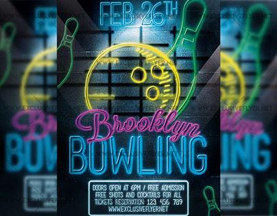 Bowling - Premium Flyer Template