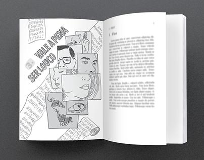 """""""os loucos geram mais resultados"""" (book illustration)"""