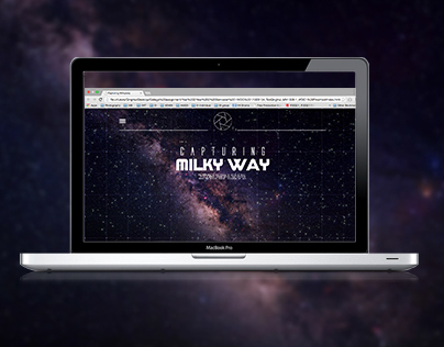 Capturing MilkyWay (WDC1 Final Project)