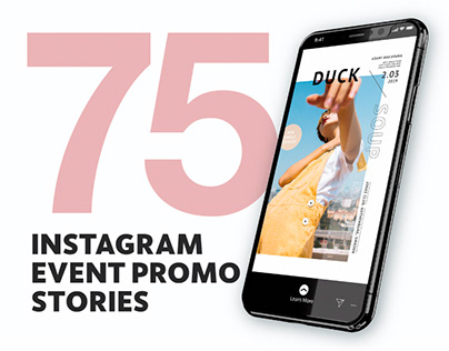 75 Instagram Event Promo Stories
