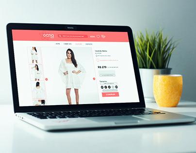 Web design: Ocna Brasil