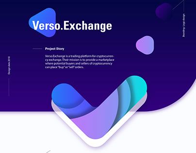 Logo -Verso exchange