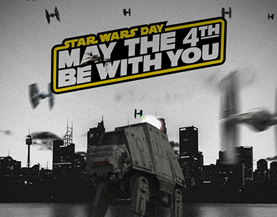 May The 4th Be With You - Star Wars Photoshop