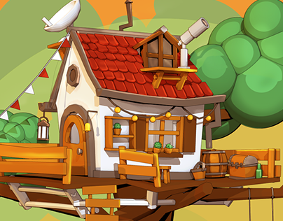 3D Cellshading | Treehouse
