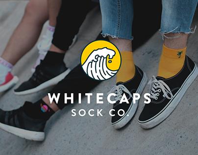 Whitecaps Sock Co. Brand Identity