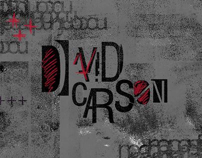 David Carson | Editorial