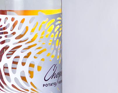 Chopin vodka packaging