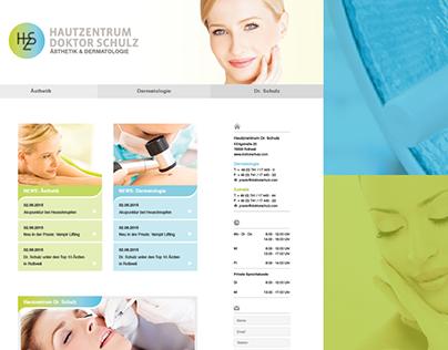 HAUTZENTRUM DR. SCHULZ - Webdesign