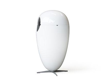 Egg Model Litter Bin for Ecobin