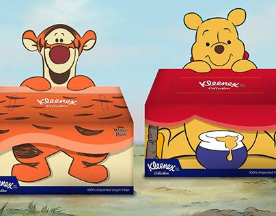 Kleenex Pooh & Tiiger POP UP pack
