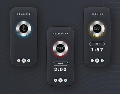 BBQ App / UX&UI / Daily Creative Challenge