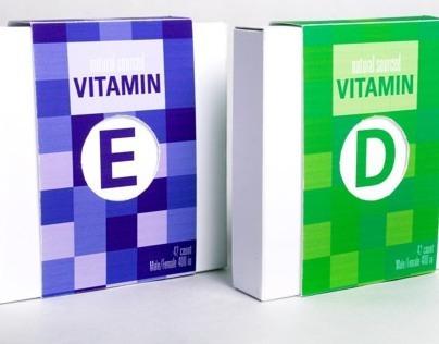 Vitamin Package Design