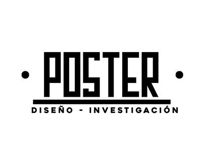 Diseño de póster - Trabajo de investigación