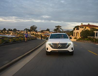 Mercedes-Benz EQC on PCH
