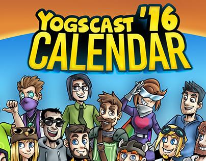 Yogscast 2016 Calendar