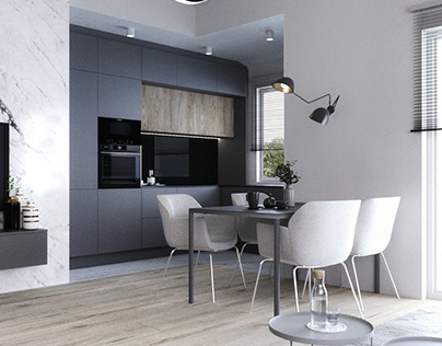 RENDERING OF APARTMENT IN SZCZECIN